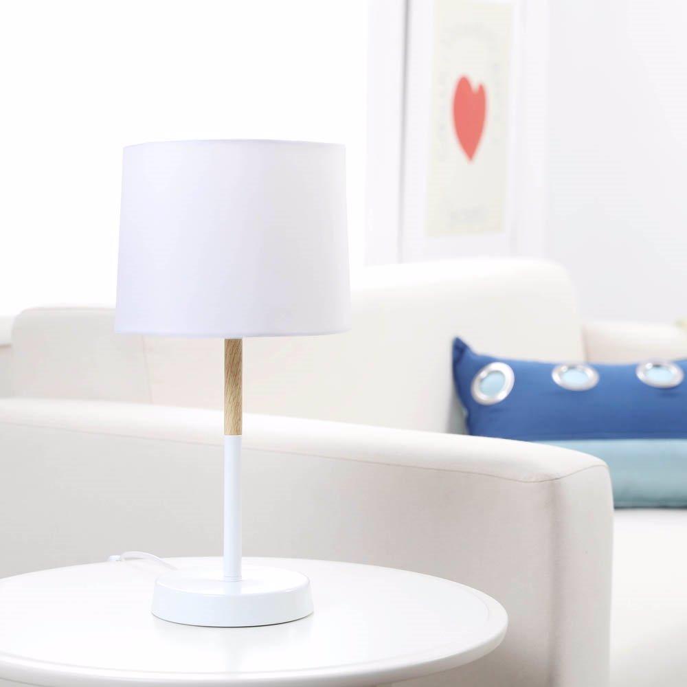 Oo Sherwood Lighting Snow Metal Table Lamp