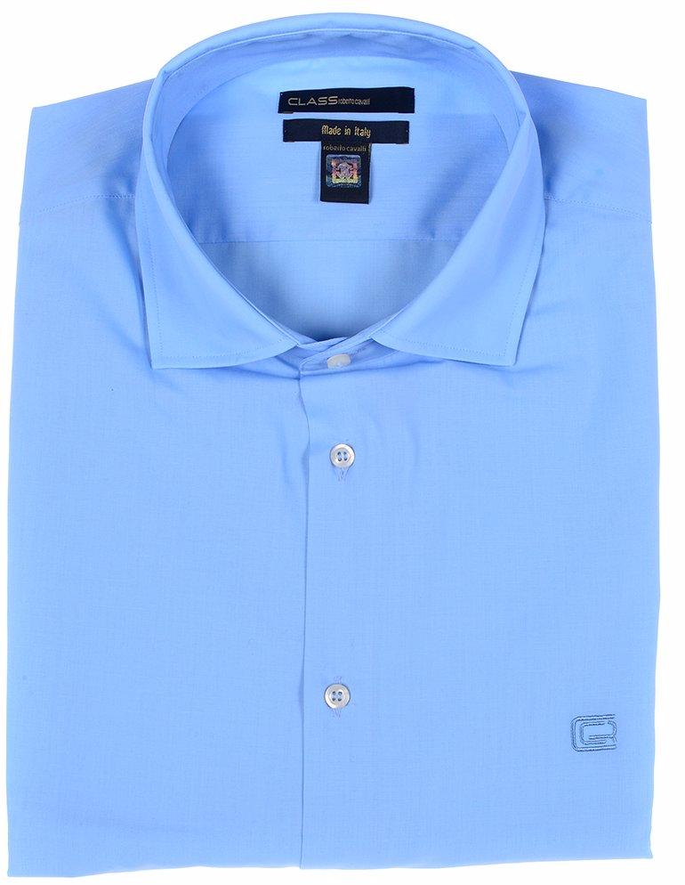 new arrival 64f10 d9dd2 Mens Long Sleeved Button-Up Shirt Light Blue