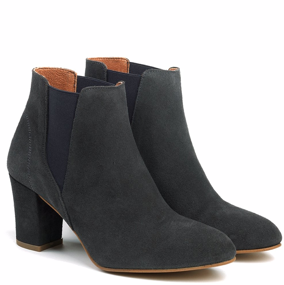 85c6de6644e NZSALE | Shoe The Bear Grey Hannah Ankle Boot