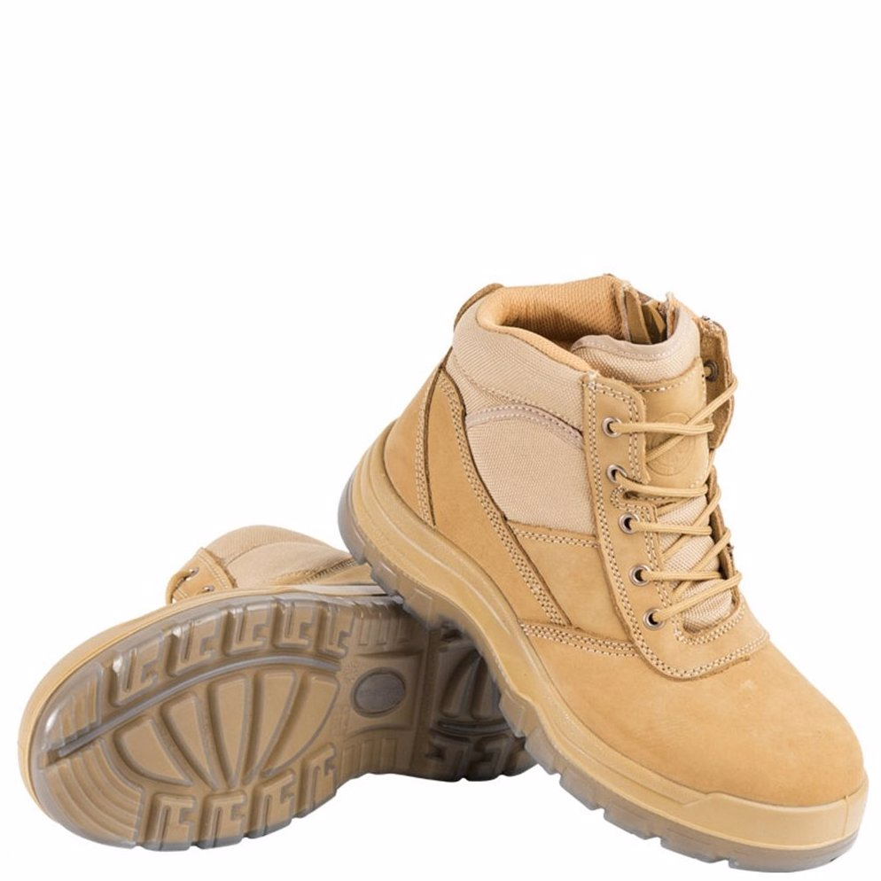 4e2fbed5eee OZSALE | Rockrooster Leather Soft Comfort Steel Toe Work Safety ...