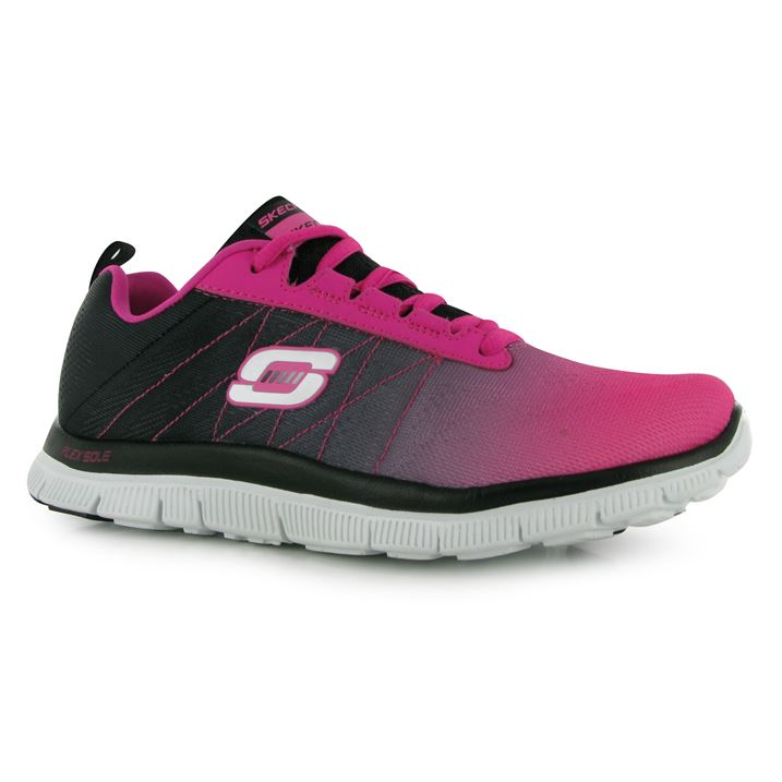 Skechers New Ladies Trainers Flex Arrival Appeal 54ALjR