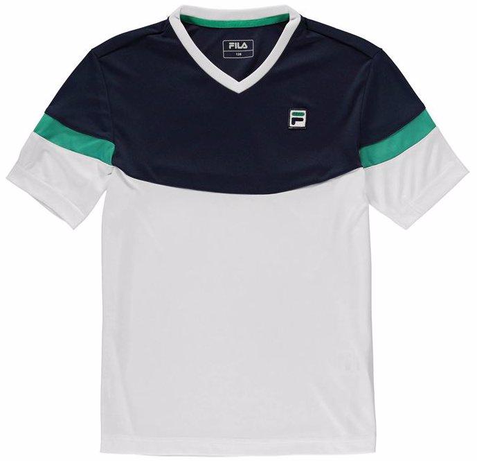 ff32e564d6 OZSALE   Fila Sinus Tennis Shirt Junior Boys
