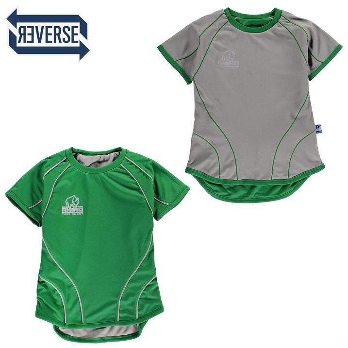 54771e3b8c2 SINGSALE | Rhino Rugby Rugby Short Sleeve Reversible Training Rugby ...
