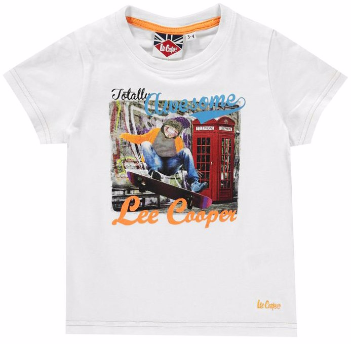 1b65e4dcb OZSALE   Lee Cooper Graphic Tshirt Infant Boys