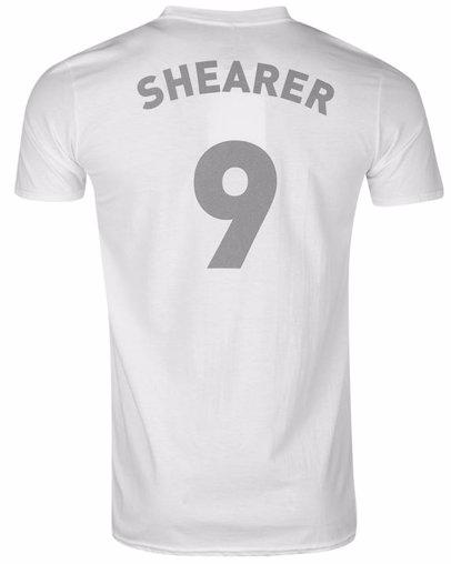 separation shoes 23608 7e48b Newcastle United Retro Player T Shirt Mens