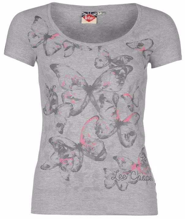 8a712d752 SINGSALE   Lee Cooper Graphic T Shirt Ladies