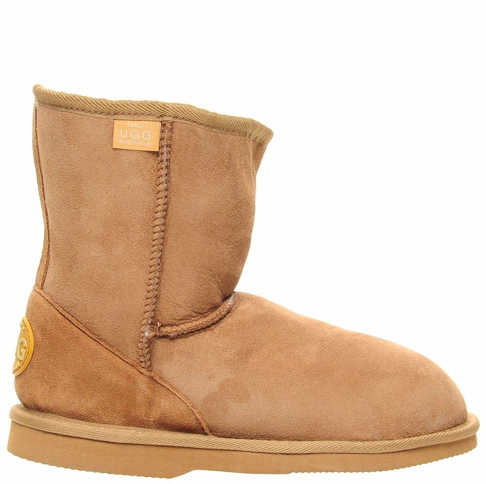 c1c8e448624 Manly Short Boots Chestnut