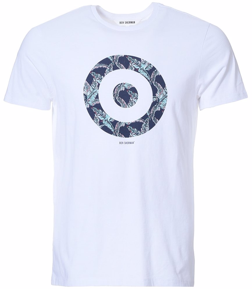 14518faff Preview with Zoom. Ben Sherman. Foliage Target Graphic Tee ...