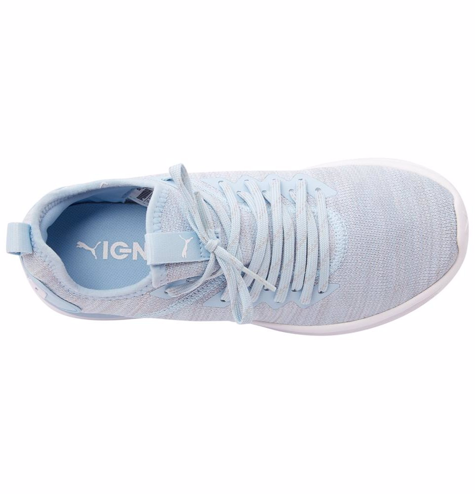 info for f91ba 821e0 Puma Women's Ignite Flash Evoknit Running Shoes Cerulean