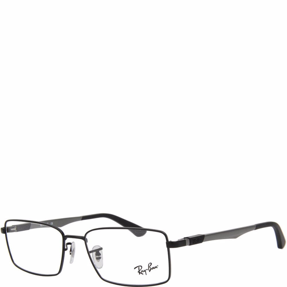 5a3b59612de Preview with Zoom. Ray-Ban. Rectangle Black Frame Eye Glasses