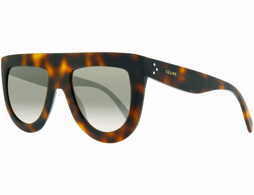 11cf0786eea104 Preview with Zoom. Celine. Celine Graduated Brown Lens Acetate Sunglasses