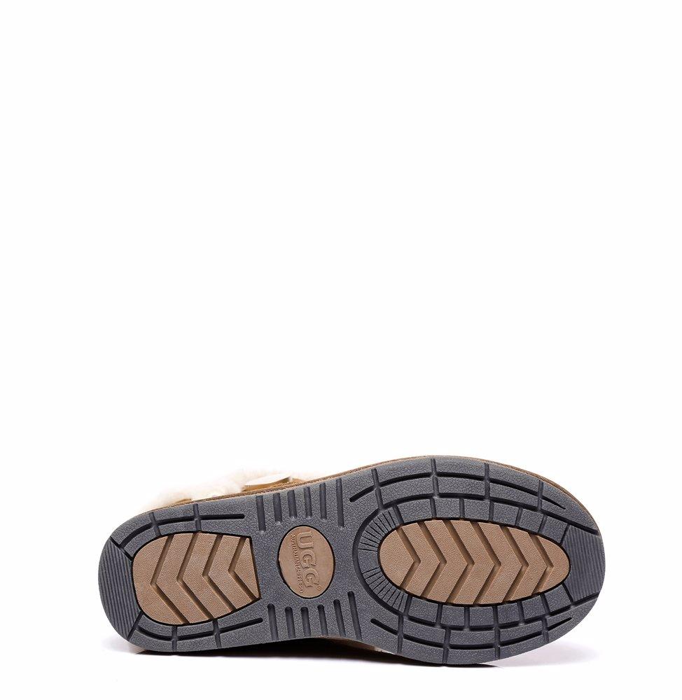 d2989b6689b AS UGG Short Button Boots Alva #511021 Chestnut AU Ladies 4 / AU Men 2 / EU  35