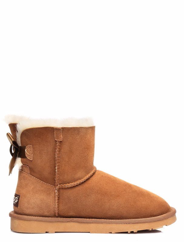 26af33a4b9c BuyInvite | EVER UGG Ever UGG Ladies Bailey Bow Mini Classic Boots ...