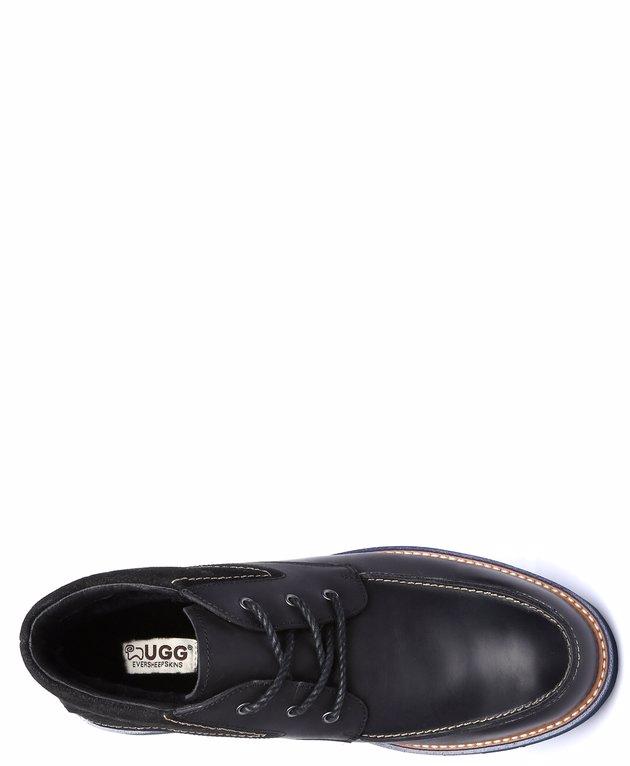 92afed074f6 BuyInvite | EVER UGG Ever UGG Mens Leather Boots Mason #111005 Black ...