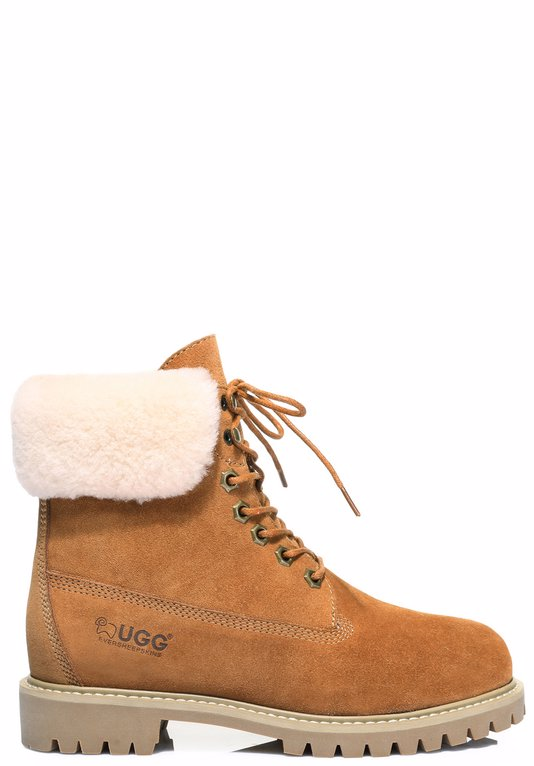 b297fdcc234 BuyInvite | EVER UGG Ever UGG Boots Hope #11881 Chestnut AU Ladies 4 ...
