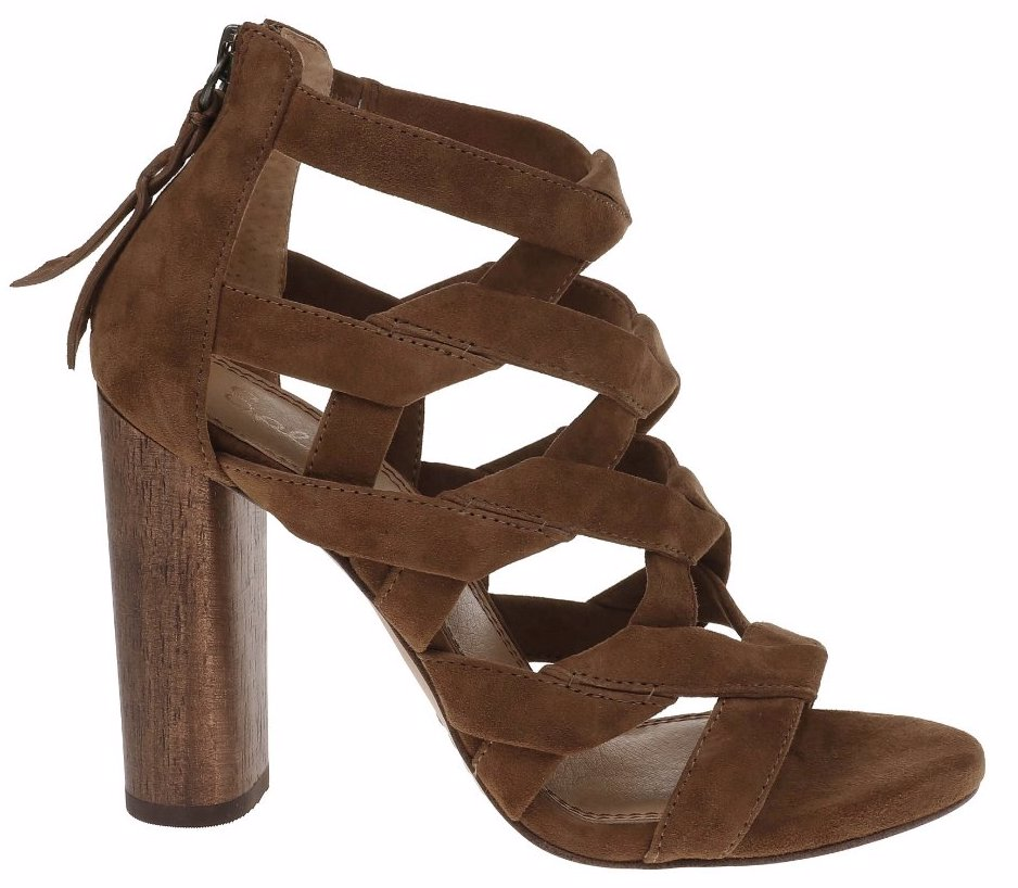 8e3b66191c34 Preview with Zoom. Splendid. Bartlett Suede Caged Dress Sandal