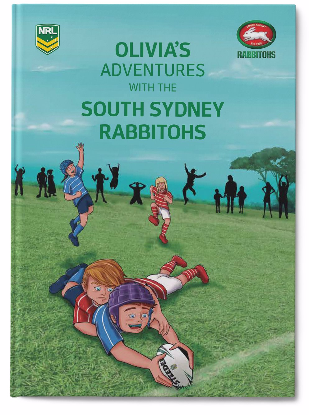 Identitydirect Nrl My Adventures With The South Sydney Rabbitohs Large Hardcover