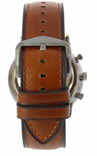 13628299ffa BuyInvite | Fossil Fossil Fs5512 Neutra Men's Gunmetal/Brown Watch