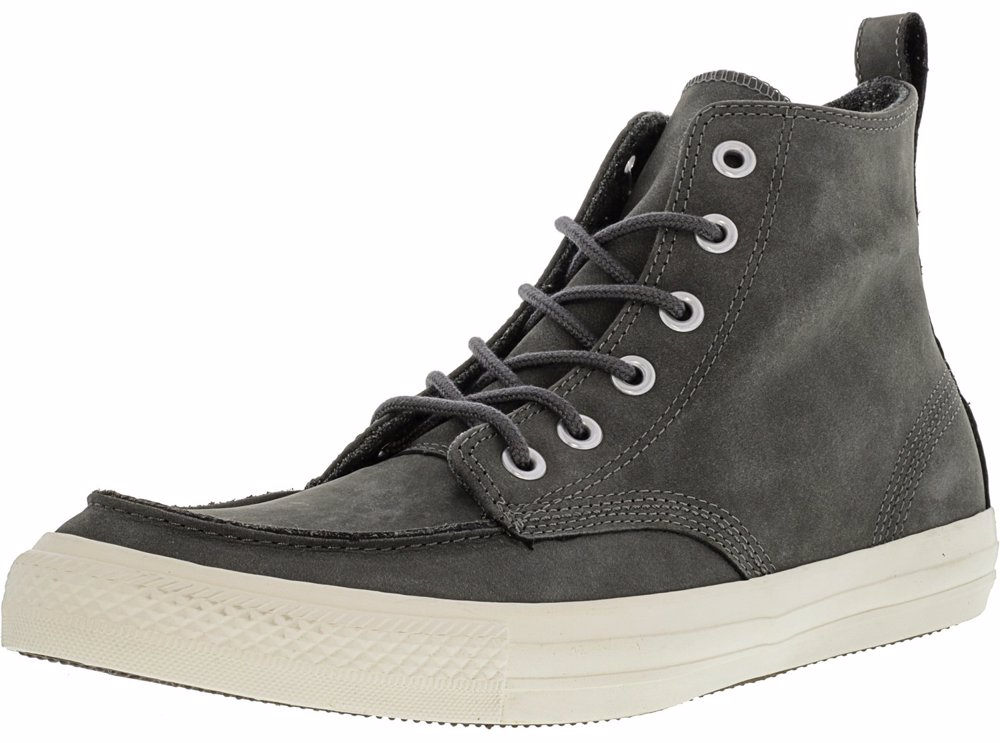 94317bdac71 Preview with Zoom. Converse. Converse Chuck Taylor All Star Classic Boot Hi  Charcoal High-Top Leather