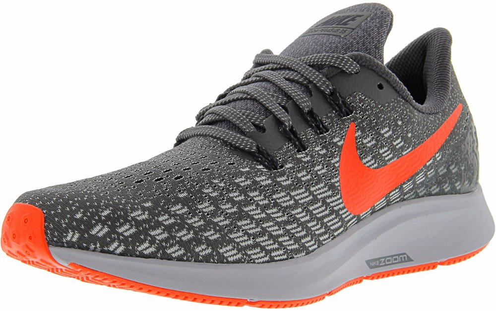 separation shoes 07836 f8820 Men's Air Zoom Pegasus 35 Thunder Grey/Bright Crimson Ankle-High Mesh  Running Shoe