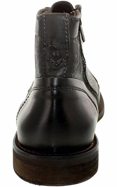 cecaa028812 Men's May-De-Man Black High-Top Leather Boot
