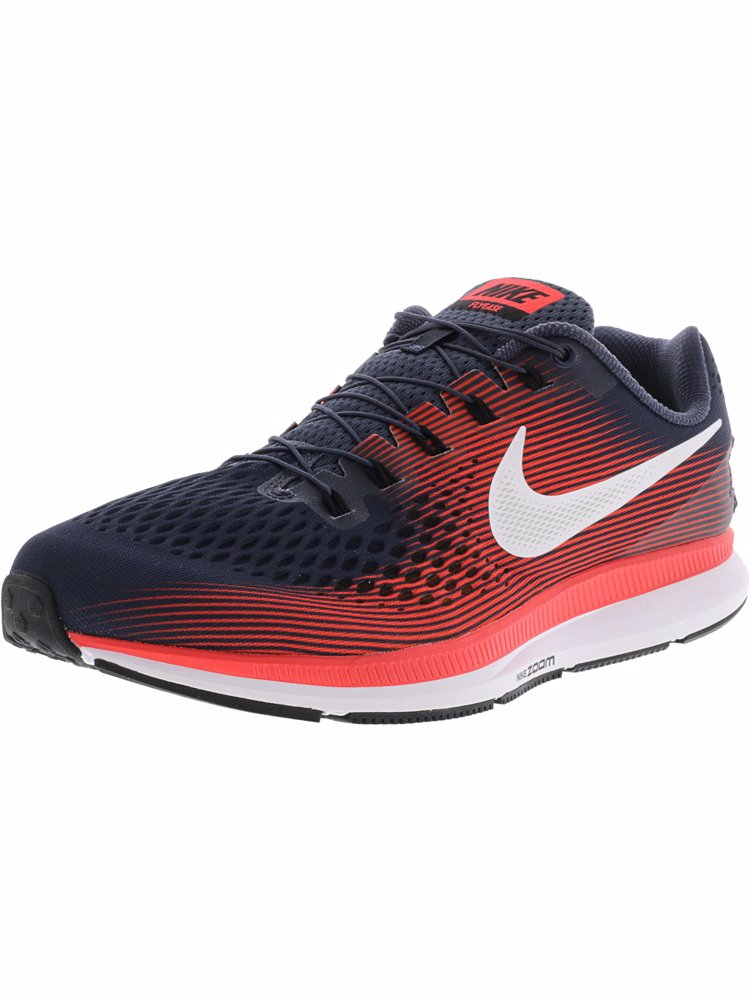 a45c43a59aa6 Preview with Zoom. Nike. Men s Air Zoom Pegasus 34 Flyease Thunder  Blue White Ankle-High Running Shoe