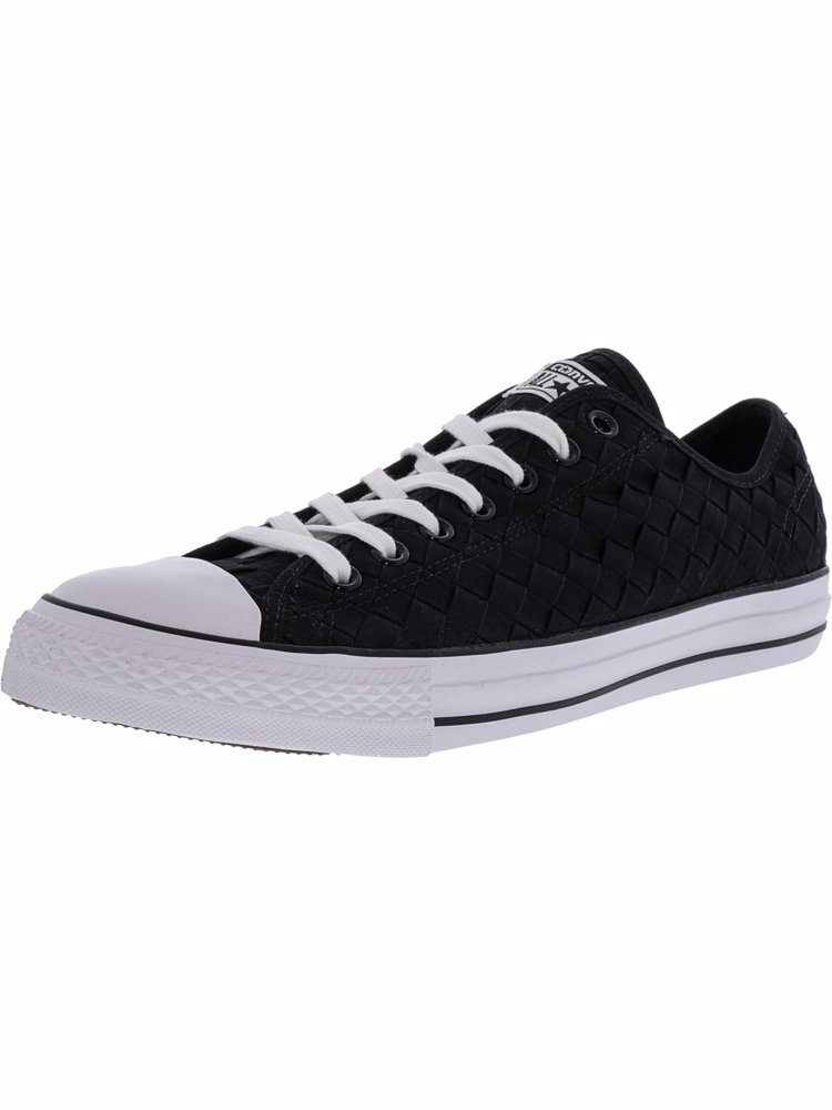 Star Sneaker Ankle Chuck Ox Black All Woven High Fashion Taylor POXuTikZ