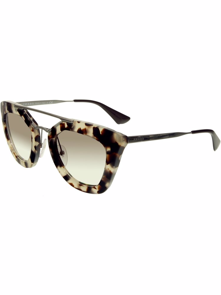 1b4a5dad05a0 ... cheap preview with zoom. prada. tortoiseshell brown butterfly style  gradient lens sunglasses 25d77 d3c3f