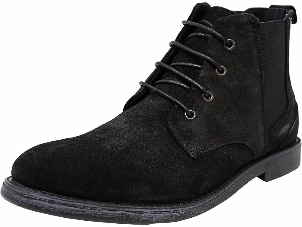 5c1314324f1 NZSALE | Steve Madden Men's Callum Suede Black Ankle-High Boot
