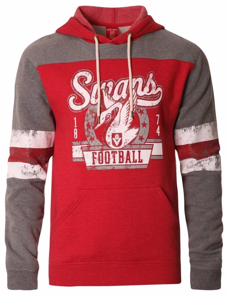 d61ac8652 DealsDirect | Playcorp Sydney Swans Mens Pullover Hood