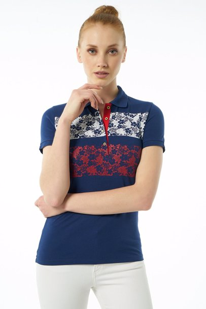 ae739ccac BuyInvite | Auden Cavill Womens Navy Short Sleeve Polo