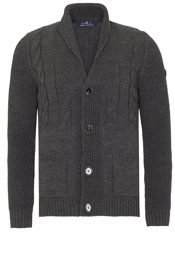 35006c3f3 BuyInvite | Jimmy Sanders Mens Jumper Anthracite