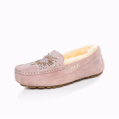 7e2855d3412 Ugg Aubrey Crystal Diamond Moccasin