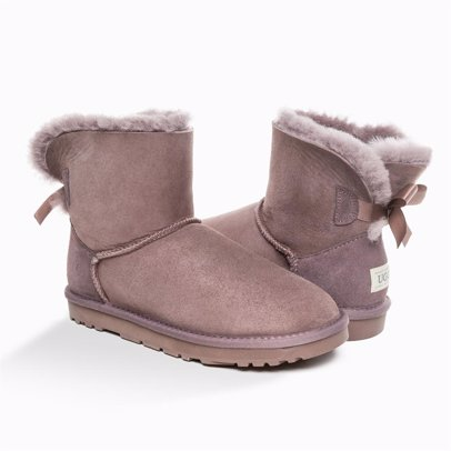 f9a2f74639e 'New Generation' Ugg Ladies Classic Mini Bailey Bow Boots 1 Ribbon  Boot(Special Edition Colours)