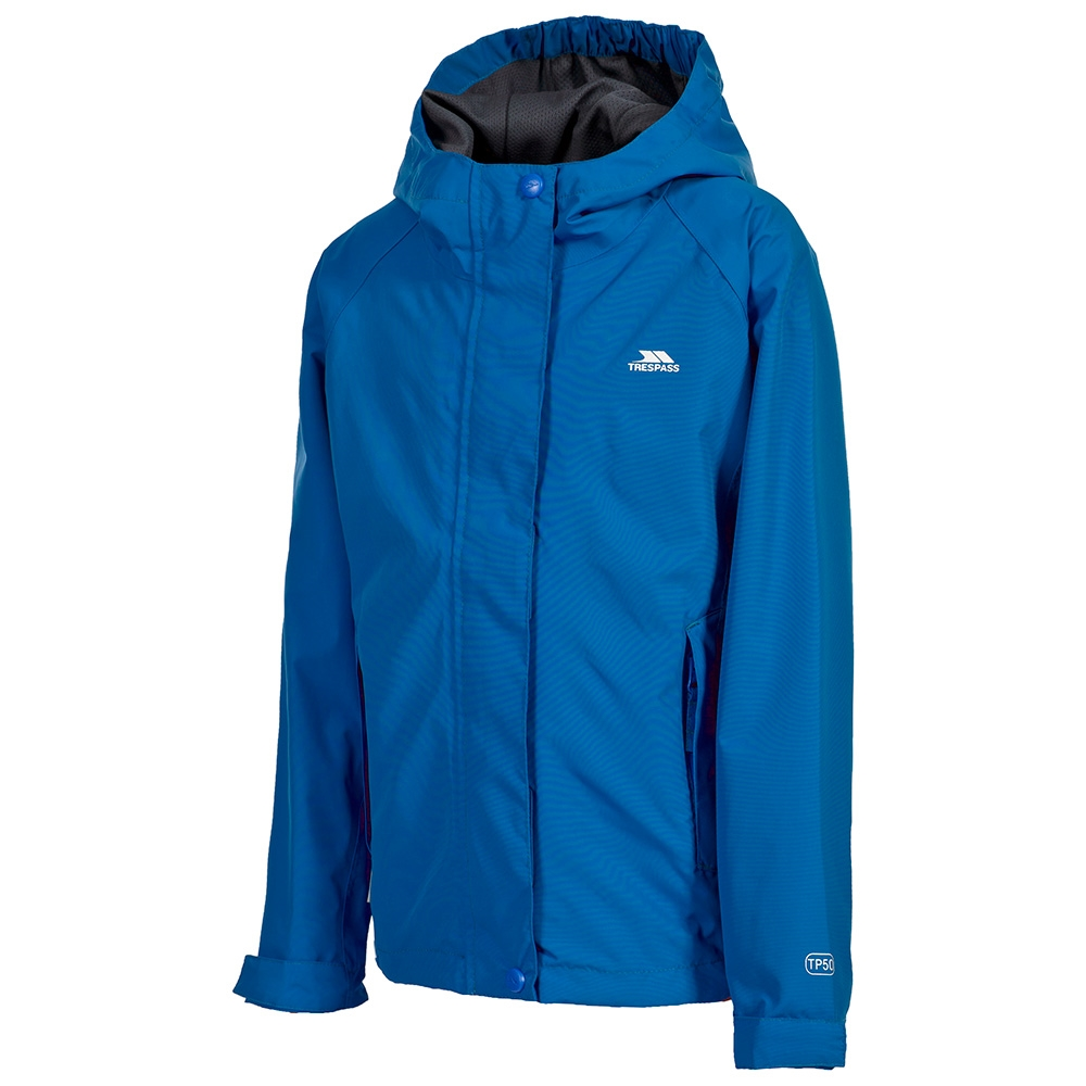 Trespass Waterproof Wylie Boys Outdoor Hooded Jacket available in