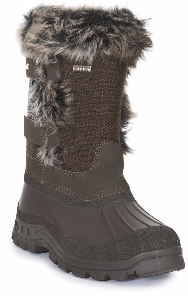 ae6be56e0 Brace Womens Pull On Snow Boots Peat
