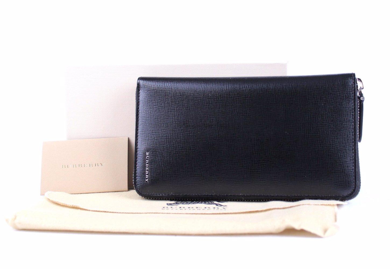 c8e6b03b8c6d SINGSALE | Burberry Calf Leather Men Wallet Black
