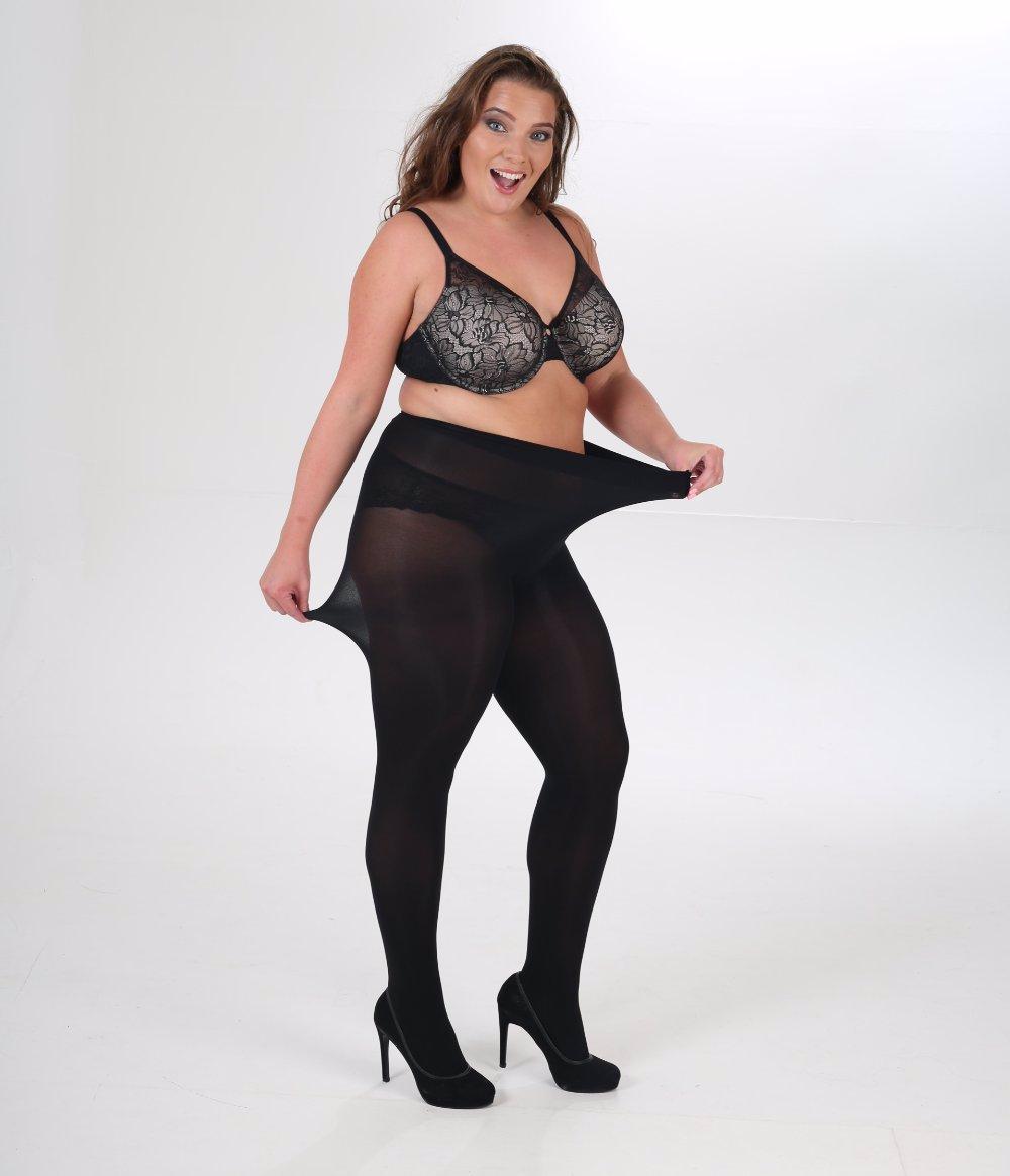 dacc7edd6091a OZSALE | Pamela Mann 90 Denier Curvy Superstretch Tights Black