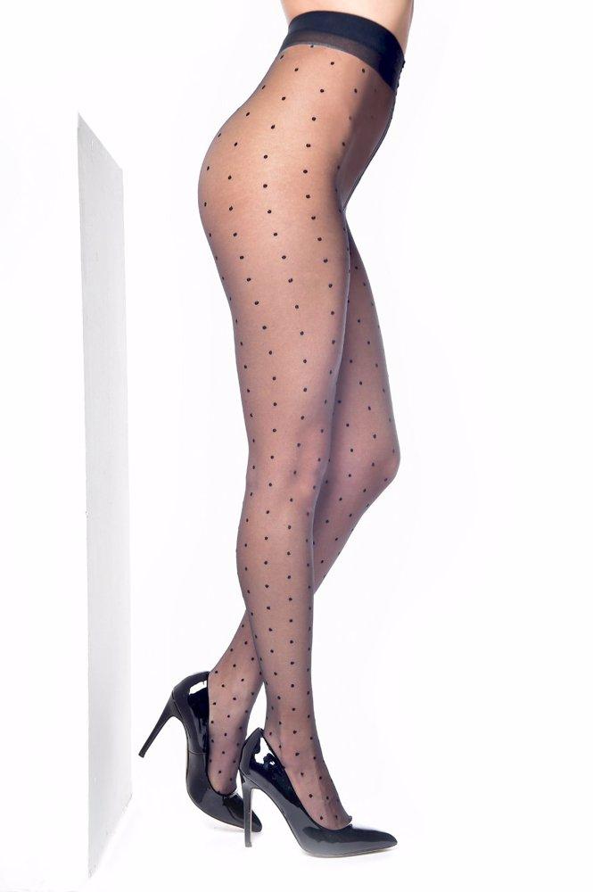 a00d15d07c637 BuyInvite | Pamela Mann Luxury Sheer Dotty Tights