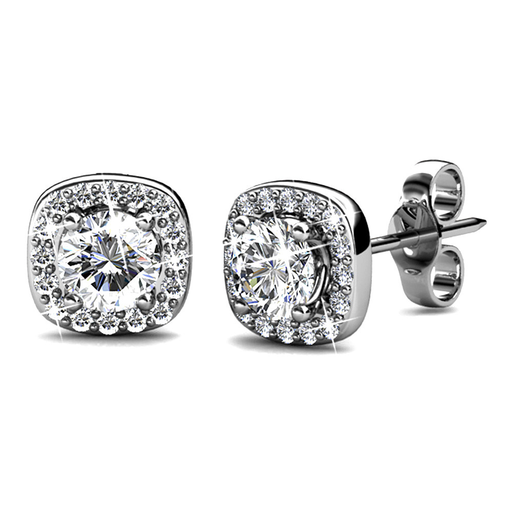 Lux Studs featuring embelishments of Swarovski® Crystals
