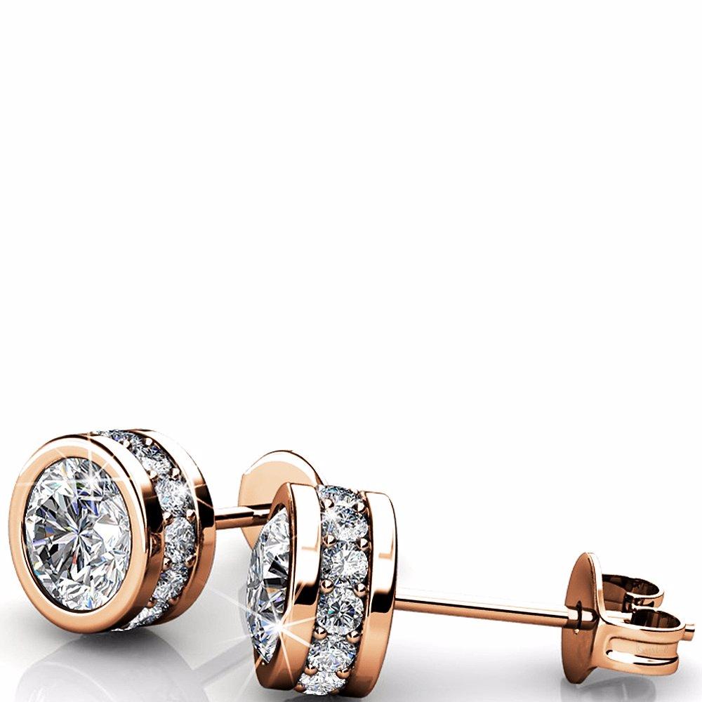 d3c2f9b595b29 Star Acamar Stud Earrings Ft Crystals From Swarovski