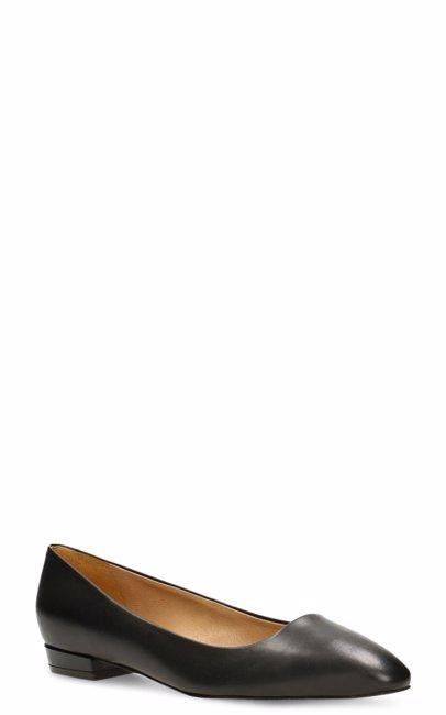 8c1258ef051ff BuyInvite   Gino Rossi Leather Womens Ballerina Flat Black