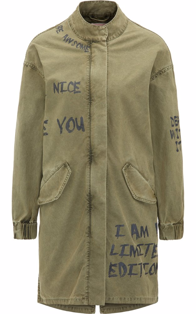4093cb6a NZSALE | MyMo & Mo Parka Bright Olive