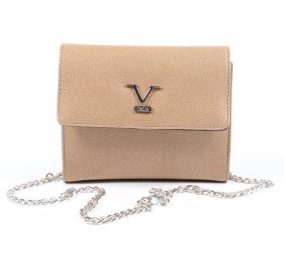 ff13c1fd17 BuyInvite | Versace 1969 Abbigliamento Sportivo SRL Milano Ita Women  Leather Bag 2560 Saffiano Sand