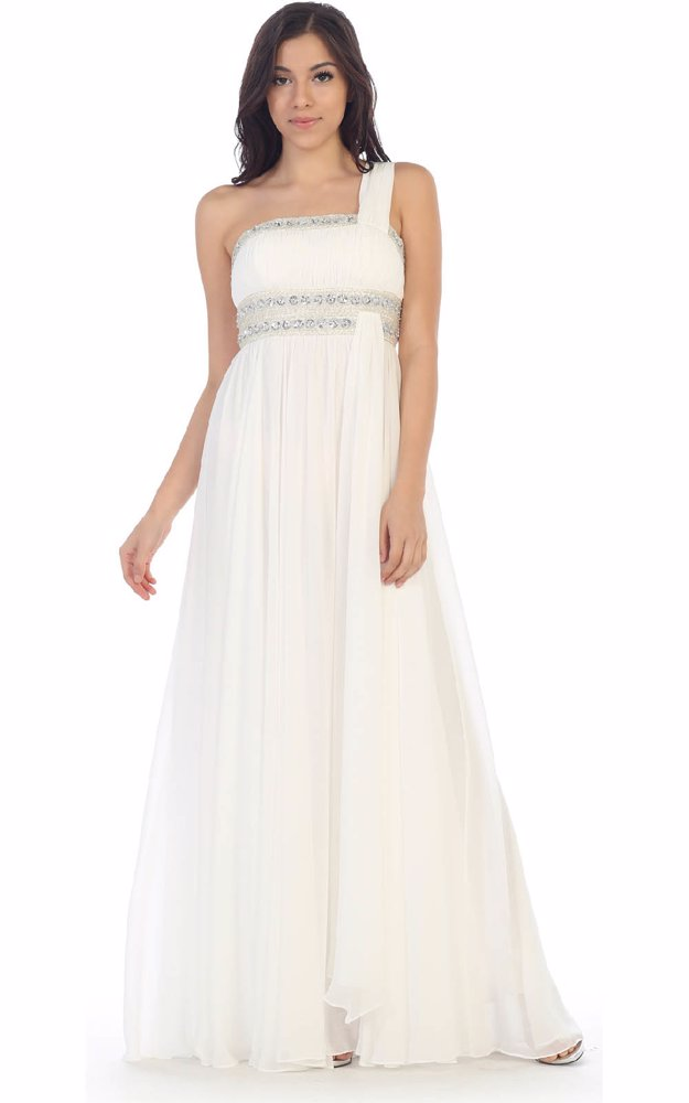 4d312dfd2239 NZSALE | May Queen Fashion Evening Prom Dress Ivory