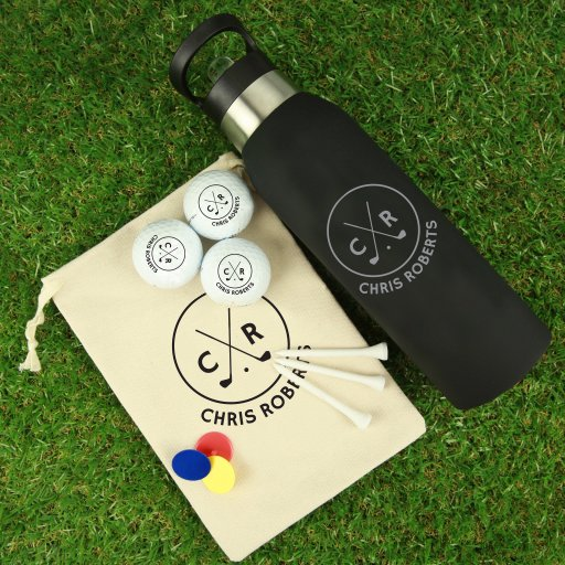 Golf Package Gift Set - Initials - Full Name
