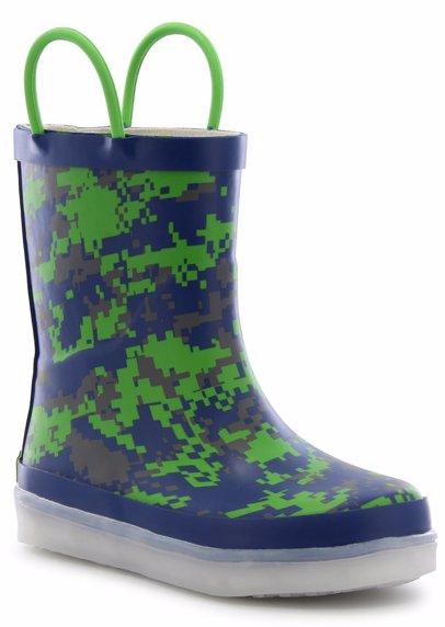 2e6f6668d Digital Camo Led Rain Boot