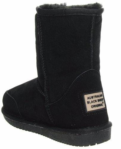 24d92278c90 Sheepskin Black Short Boots
