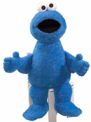 Ss Cookie Monster Jumbo 104 Cm