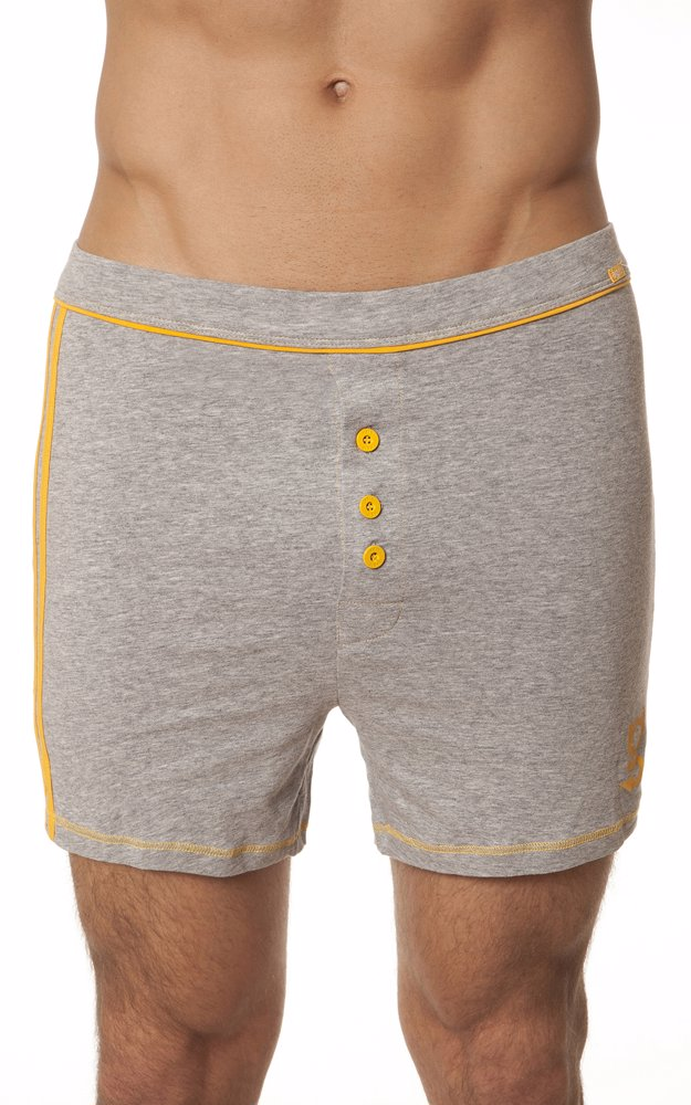 97db4505ed88 MYSALE | Agio Milano Mens Boxer Shorts Gray